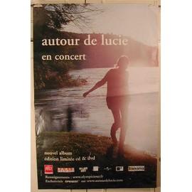 Autour de Lucie - AFFICHE MUSIQUE / CONCERT / POSTER