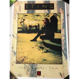 Sting - Ten Summoner's Tale - AFFICHE MUSIQUE / CONCERT / POSTER