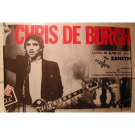 De Burgh Chris - AFFICHE MUSIQUE / CONCERT / POSTER