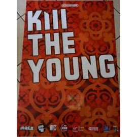 Kill The Young - AFFICHE MUSIQUE / CONCERT / POSTER