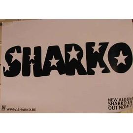 Sharko - AFFICHE MUSIQUE / CONCERT / POSTER