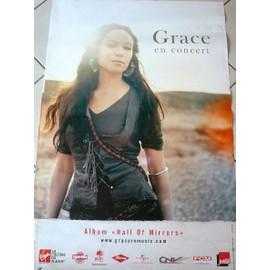Grace - AFFICHE MUSIQUE / CONCERT / POSTER