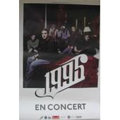 1995 - En Concert - Affiche Musique / Concert / Poster