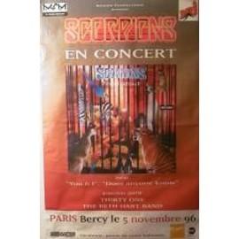 Scorpions - pure instinct - AFFICHE MUSIQUE / CONCERT / POSTER