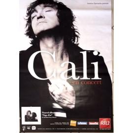 CALI - L'Age d'or - AFFICHE MUSIQUE / CONCERT / POSTER