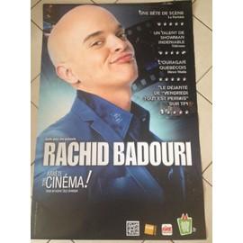 Rachid BADOURI - Arrête Ton Cinéma! - AFFICHE MUSIQUE / CONCERT / POSTER
