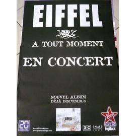 EIFFEL - A Tout Moment - AFFICHE MUSIQUE / CONCERT / POSTER