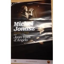 Michel Jonasz - AFFICHE MUSIQUE / CONCERT / POSTER