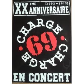 Charge 69 - Xxem Anniversaire - AFFICHE MUSIQUE / CONCERT / POSTER