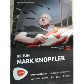 Mark Knopfler - Concert 2010 - AFFICHE MUSIQUE / CONCERT / POSTER