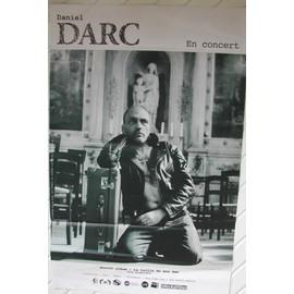 Daniel DARC - AFFICHE MUSIQUE / CONCERT / POSTER