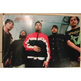 Deftones The - AFFICHE MUSIQUE / CONCERT / POSTER