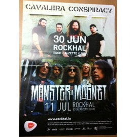 Monster Magnet - AFFICHE MUSIQUE / CONCERT / POSTER