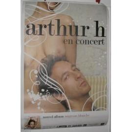 Arthur H - 2003 - AFFICHE MUSIQUE / CONCERT / POSTER
