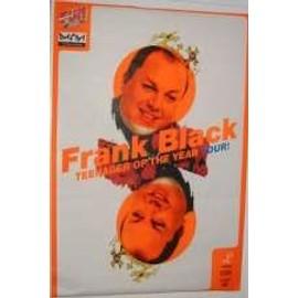 Black Frank - AFFICHE MUSIQUE / CONCERT / POSTER
