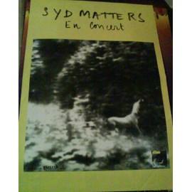 Syd Matters - AFFICHE MUSIQUE / CONCERT / POSTER