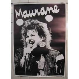 Maurane - AFFICHE MUSIQUE / CONCERT / POSTER