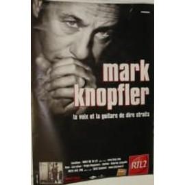 Knopfler Mark - AFFICHE MUSIQUE / CONCERT / POSTER