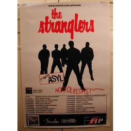 Stranglers The - AFFICHE MUSIQUE / CONCERT / POSTER