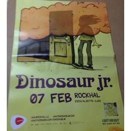 Dinosaur Jr. - AFFICHE MUSIQUE / CONCERT / POSTER