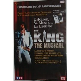 ELVIS PRESLEY - The King - AFFICHE MUSIQUE / CONCERT / POSTER