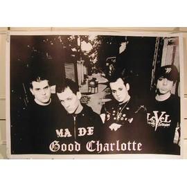 Good Charlotte - AFFICHE MUSIQUE / CONCERT / POSTER
