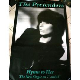 The Pretenders - AFFICHE MUSIQUE / CONCERT / POSTER
