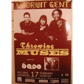 Throwing Muses - AFFICHE MUSIQUE / CONCERT / POSTER
