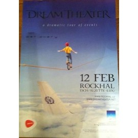 Dream Theater - A Dramatic Tour Of Events - AFFICHE MUSIQUE / CONCERT / POSTER