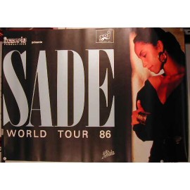 Sade - AFFICHE MUSIQUE / CONCERT / POSTER