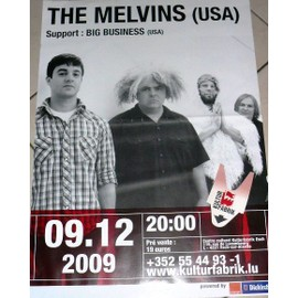 The Melvins - AFFICHE MUSIQUE / CONCERT / POSTER