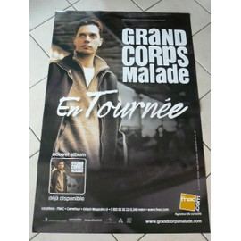 Grand Corps malade - AFFICHE MUSIQUE / CONCERT / POSTER