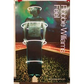 Williams Robbie - Feel - AFFICHE MUSIQUE / CONCERT / POSTER