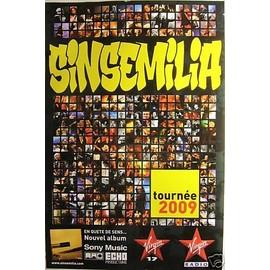 SINSEMILIA - 2009 - AFFICHE MUSIQUE / CONCERT / POSTER