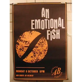 An Emotional Fish - AFFICHE MUSIQUE / CONCERT / POSTER