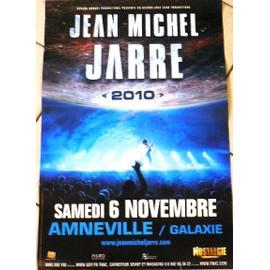 Jean-Michel Jarre - AFFICHE MUSIQUE / CONCERT / POSTER