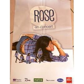 ROSE - En Concert 2008 - AFFICHE MUSIQUE / CONCERT / POSTER