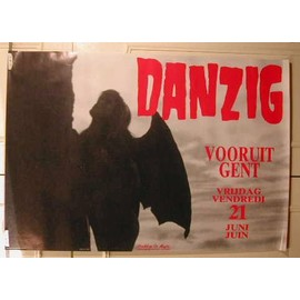 Danzig - AFFICHE MUSIQUE / CONCERT / POSTER