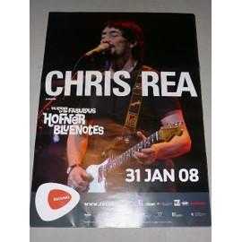Chris REA - 2008 - AFFICHE MUSIQUE / CONCERT / POSTER
