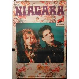 NIAGARA - AFFICHE MUSIQUE / CONCERT / POSTER