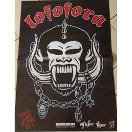 Lofofora - AFFICHE MUSIQUE / CONCERT / POSTER
