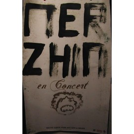 MERZHIN - AFFICHE MUSIQUE / CONCERT / POSTER