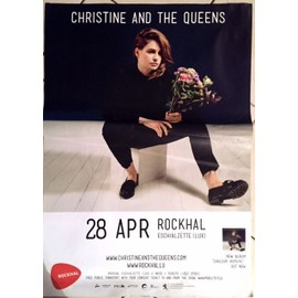 Christine And The Queen - AFFICHE MUSIQUE / CONCERT / POSTER