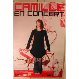 Camille - 2004 - AFFICHE MUSIQUE / CONCERT / POSTER