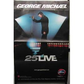 George Michael - AFFICHE MUSIQUE / CONCERT / POSTER