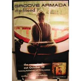 Grove Armada - My Friend - AFFICHE MUSIQUE / CONCERT / POSTER