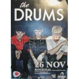 The Drums - 2011 - AFFICHE MUSIQUE / CONCERT / POSTER