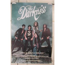 Darkness The - Love is only - AFFICHE MUSIQUE / CONCERT / POSTER