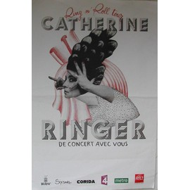 Catherine RINGER - AFFICHE MUSIQUE / CONCERT / POSTER
