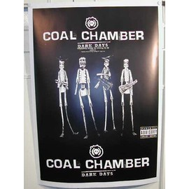 Coal Chamber - AFFICHE MUSIQUE / CONCERT / POSTER